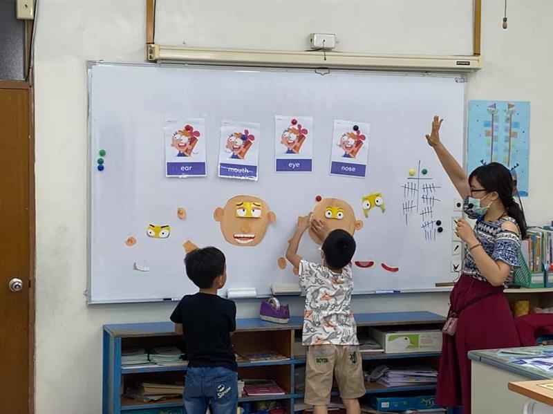 愛美語暑期小一新生試聽美語課程 - 培文分校